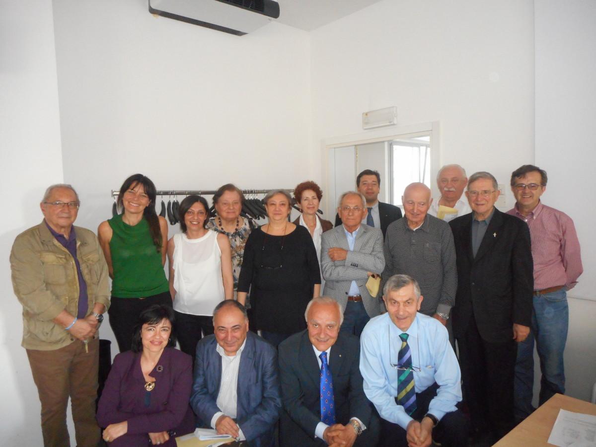 11 maggio 2015 I membri del Consiglio Direttivo dell'associazione Insieme per Cristina Onlus appena eletti per il biennio 2015-2016