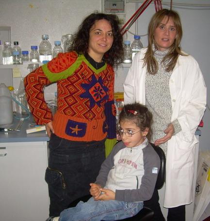 Giugno 2011.Emanuela Defranceschi, Elena e la dott.ssa Elisabetta Ciani.