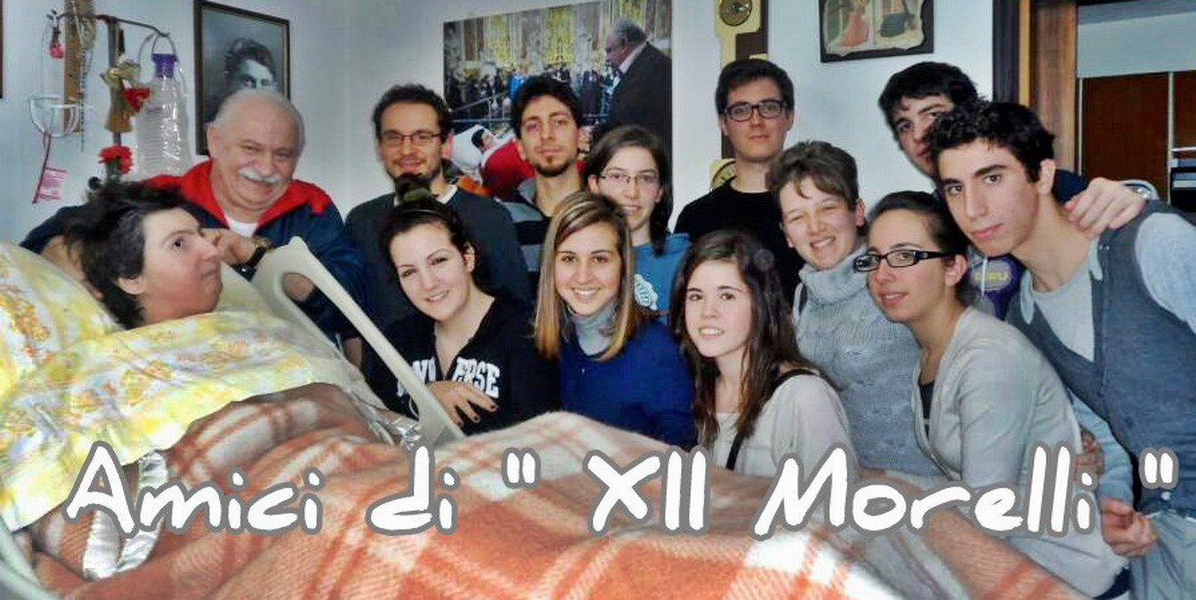 Gennaio 2013 visita a Barbara di un gruppo di studenti della scuola XII Morelli di Cento ( Ferrara )
