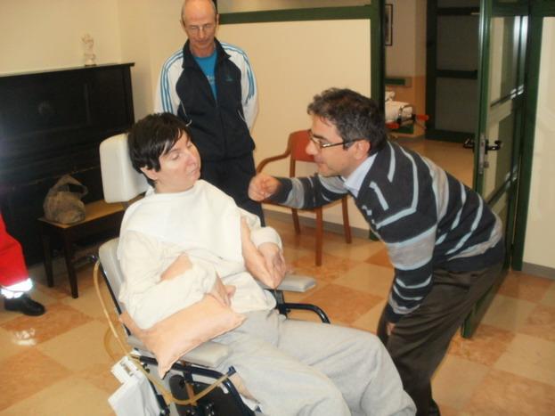 26 novembre 2011- Clinica Don Orione di Bergamo -l'ing Daniele Salpietro, Barbara Ferrari