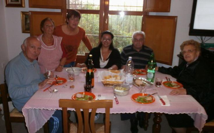 6 ottobre 2013. Villa Pallavicini (BO). Gli amici di Sarzana Paola e la sua famiglia da Romano e Cristina