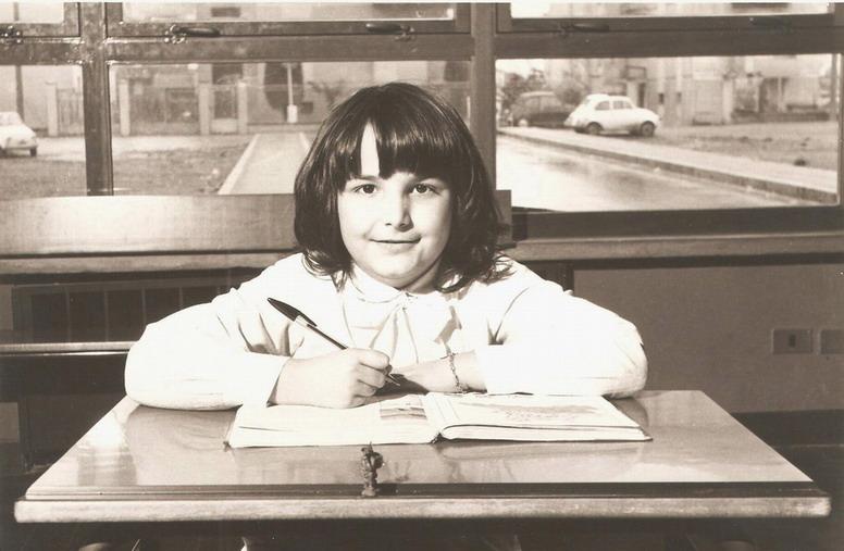 1977 Cristina a 11 anni in quinta elementare