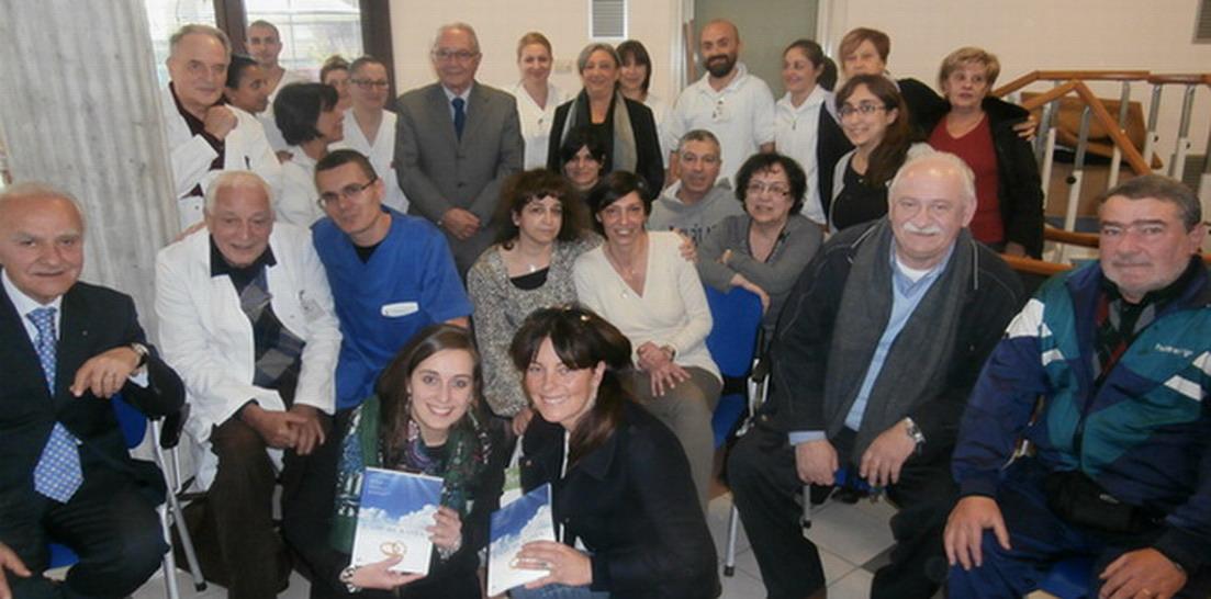 19 novembre 2014. Bologna. Presentazione del libro L'AMORE BASTA? all'ospedale S.VIOLA