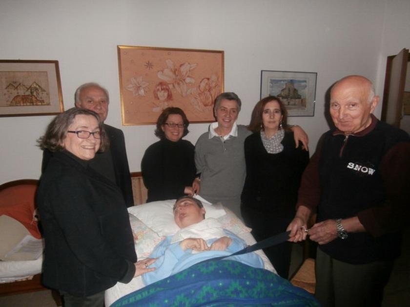 23 gennaio 2015 - La commissione dell'Azienda Sanitaria Locale in visita di controllo a Cristina