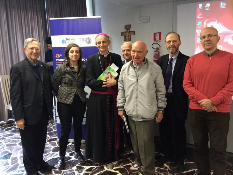 Alcuni relatori: Mons Fiorenzo Facchini, Eleonora Gregori Ferri, Mons Matteo Zuppi, Gianluigi Poggi, Romano Magrini,  Roberto Piperno, Giuseppe Paruolo.