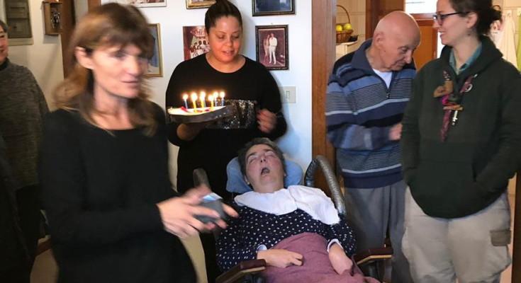 Per il compleanno di Cristina anche la torta